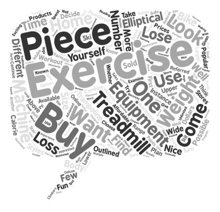Weight Loss Exercise Products You May Want to Buy Word Cloud Concept Text Background