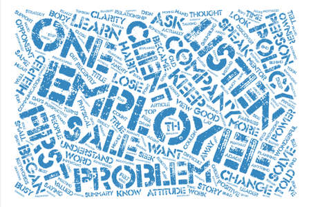 recently: How to Keep a Good Employee Look Listen Learn text background word cloud concept Illustration