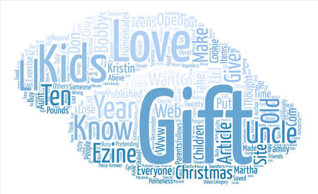 I Just Love It text background word cloud concept