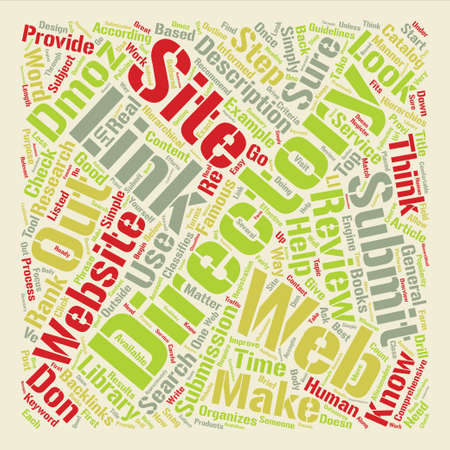 Snag Backlinks With Website Directories Word Cloud Concept Text Background Illustration