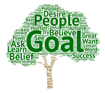 How Great is the Strength of Your Belief text background word cloud concept Illustration