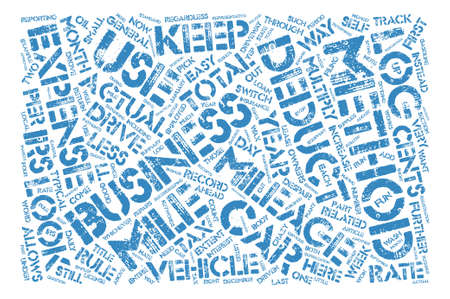 deductions: How To Drive The Irs Crazy Word Cloud Concept Text Background Illustration