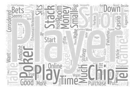 poker faced: Post flop Strategy in poker Word Cloud Concept Text Background