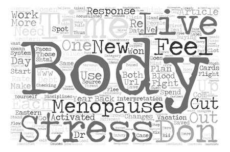 How To Live With Menopause texto fundo palavra nuvem conceito Foto de archivo - 73731598