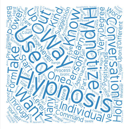 hypnotize: Hypnotize Learn how to hypnotize Word Cloud Concept Text Background