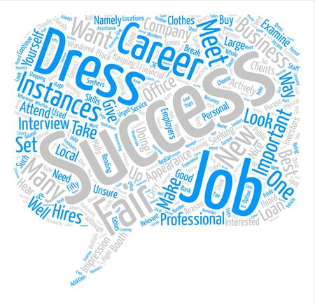 Instances In Which You Should Dress for Success text background word cloud concept