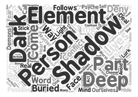 lurk: Shadows text background word cloud concept