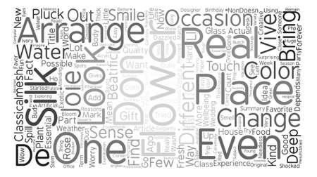 Silk Flower Classicalmesh Word Cloud Concept Text Background