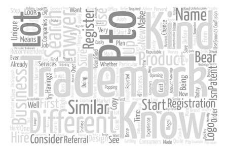 Concepto de nube de word de fondo de texto de búsqueda de marca