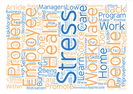 How To Prevent Burnout text background word cloud concept
