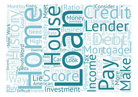 homeowners: What Home Loan Lenders Look For In Would be Homeowners text background word cloud concept