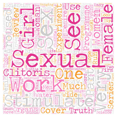 Did You See Truth About Female Desire Part text background wordcloud concept
