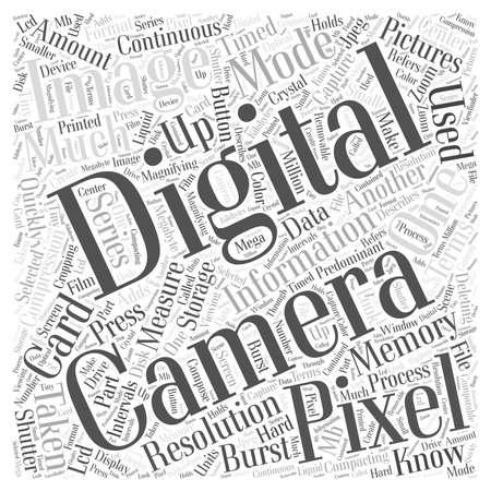 taken: Digital Terminology Word Cloud Concept