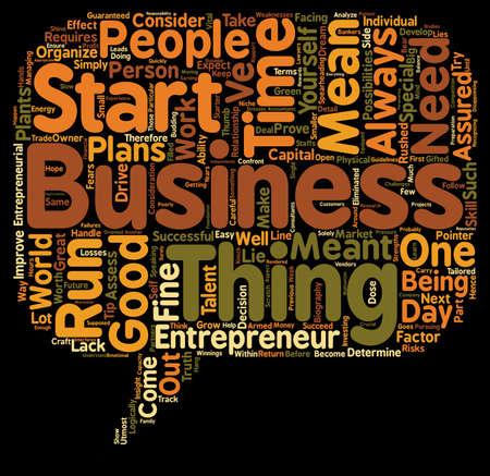 logically: Entrepreneur biography text background wordcloud concept