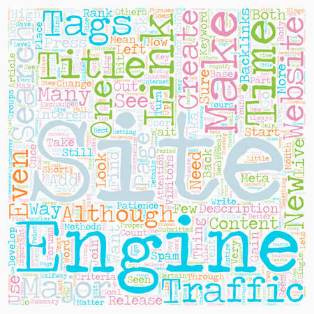 How to create a high traffic website text background wordcloud concept