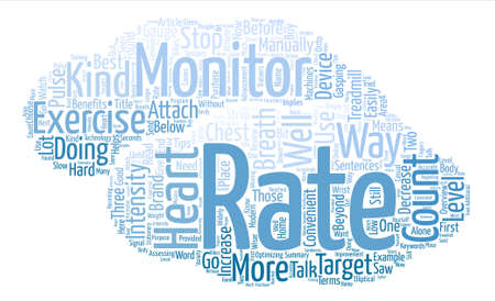 pulses: Overview Of Heart Rate Monitors text background word cloud concept
