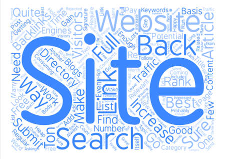 How To Get A Heap Of New Visitors To Your Website text background word cloud concept