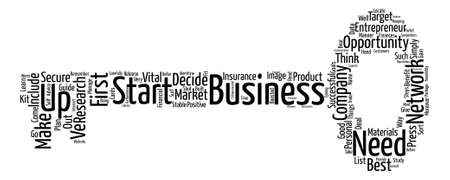 business opportunity: Network of business opportunity entrepreneur text background word cloud concept
