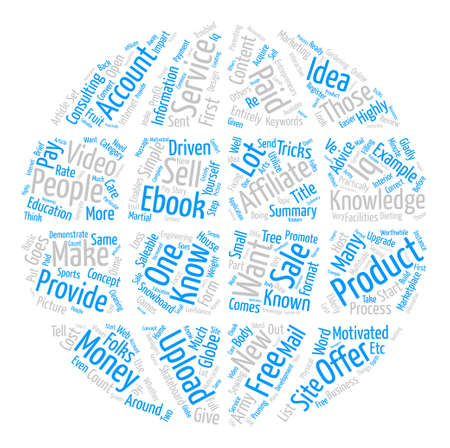 How Does One Provide Content And Make Money With Free IQ text background word cloud concept