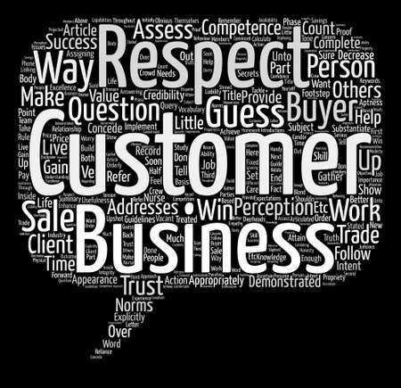 How to make your business a success text background word cloud concept Ilustrace