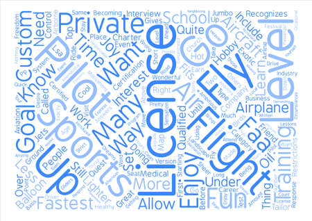 The Fastest Way to Get Off the Ground text background word cloud concept