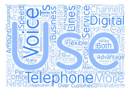 Why Choose A Voice T For Your Business Communications text background word cloud concept