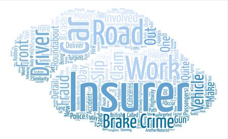 Highway Robbery text background word cloud concept