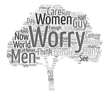 Oh to be FEMALE text background word cloud concept