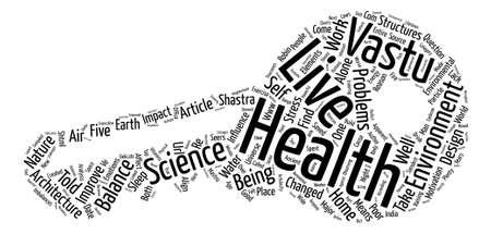 The Science of Architecture text background word cloud concept