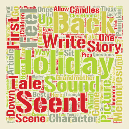 How to Write a Holiday Tale that Isnt a Turkey text background word cloud concept