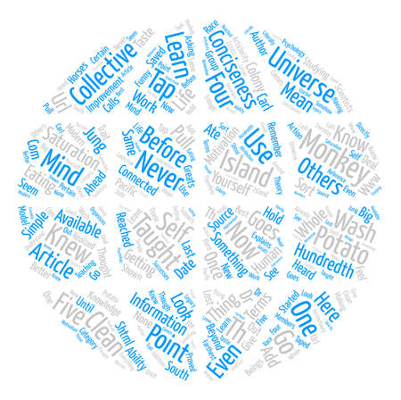 If Not Why Not text background word cloud concept Ilustração