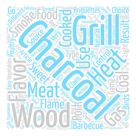 The Right Grill for your Barbecue text background word cloud concept