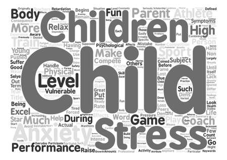 vulnerable: When Your Child s Star Dims text background word cloud concept Illustration