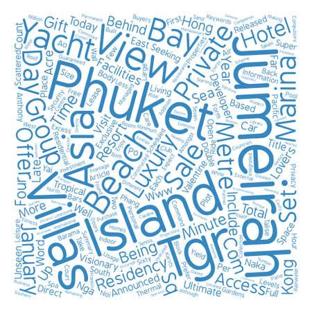 Jumeirah Word Cloud concept