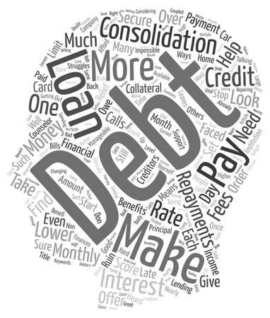 Avez-vous besoin d'aide financière pour aider avec les factures mensuelles texte background wordcloud concept