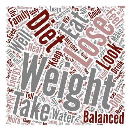 Ways To A Healthier and Better You text background word cloud concept