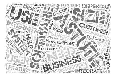 What Is Astute Software text background word cloud concept Ilustração
