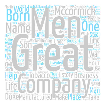 deeds: What do you need to know about business greats Word Cloud Concept Text Background