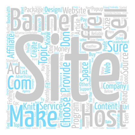 How to Make Money From Your Website text background word cloud concept