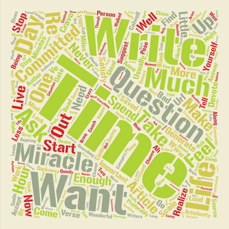 It s A Miracle text background word cloud concept