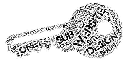 Website Design Considerations I text background word cloud concept