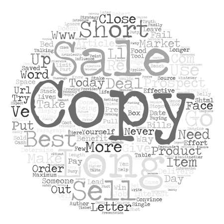 Long sales letters vs short sales letters text background word 73955125 short or long copy the best sales letter strategy and why text background word cloud concept thecheapjerseys Gallery