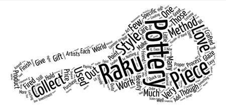 add as friend: Raku Pottery text background word cloud concept Illustration