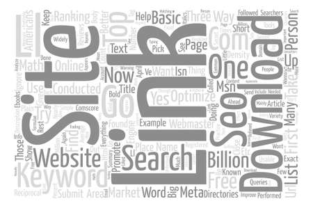 searches: What is basic SEO and how does one go about it text background word cloud concept
