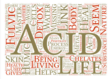 Master Detox Nature s Answer to a Healthy Life text background word cloud concept