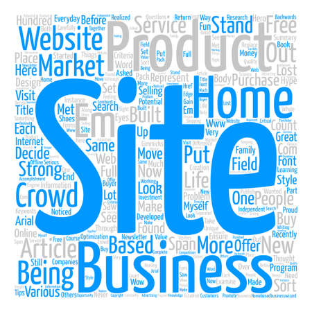 Stand Out From The Crowd And Make Money Word Cloud Concept Text Background Vectores