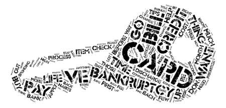 Life After Bankruptcy text background word cloud concept