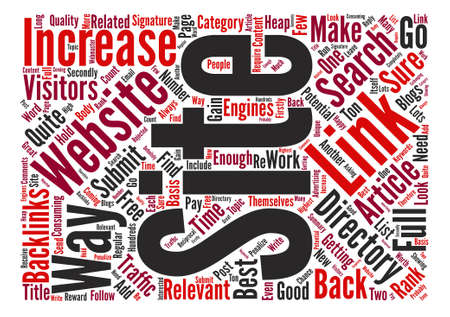 How To Get A Heap Of New Visitors To Your Website Word Cloud Concept Text Background