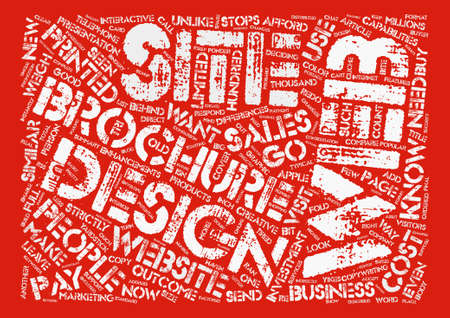 How To Know What To Pay For Web Design text background word cloud concept