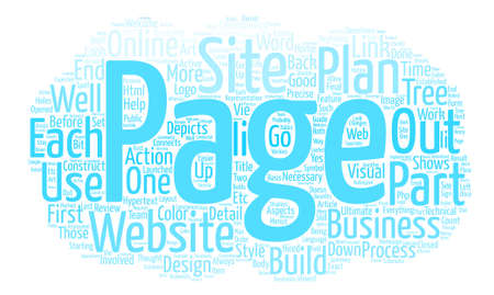 H F L team Business Plans The Art Of The Website part II Word Cloud Concept Text Background